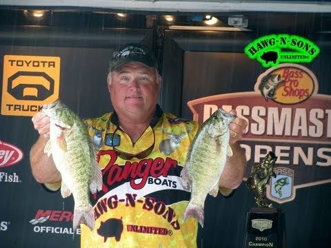 SBOBT Sturgeon Bay Open Bass Fishing Tournament 2011 - Full 38 Place Pay-Out Video