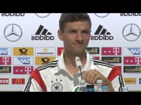 Thomas Müller disst RTL-Reporter auf Pressekonferenz
