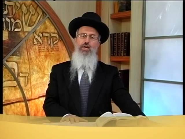 הרב אברהם יוסף החזרה בשבת