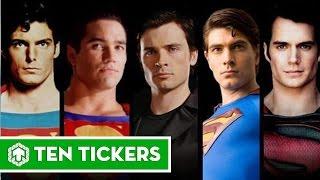 Superman Through Years 1948, 1950, 1951, 1954, 1978, 1981, 1983, 1987, 2006, 2013, 2016