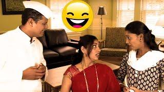 एक तरी गुण आहे का माणसांसारखं - Funny Man | Marathi Latest Comedy Jokes
