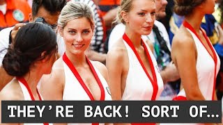 Grid Girls Returning! Sort Of... - Call For Tyre Simplification - Hartley Surprised by Rumours