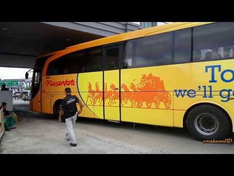 Bejeu, HR, Nusantara, Pahala Kencana, MJCM, Mujijaya, New Shantika memasuki terminal Rawamangun