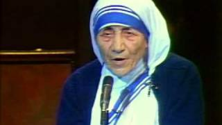 Mother Teresa on Family Prayer