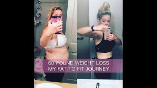 60 Pound Weight Loss Transformation - Workout Video Compilation (Before and After Photos & Videos)