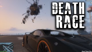 Death Race + Funny Moments in GTA 5