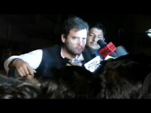 Rahul Gandhi dares government to run bulldozer over him