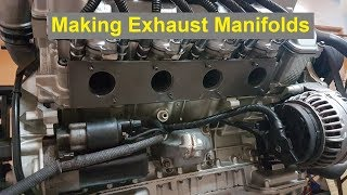Making Turbo Exhaust Manifolds / Headers (M113k, E55 Engine)