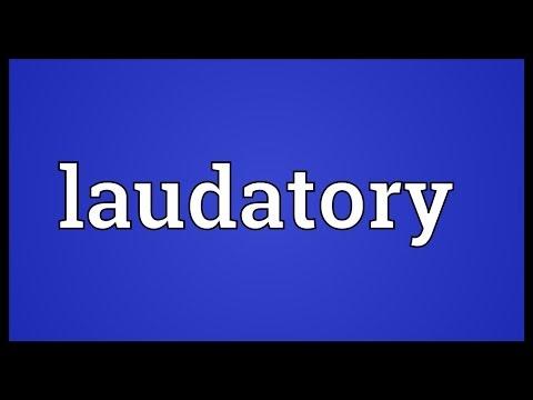 Header of laudatory