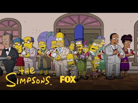 Mr. Burns' Party Turns Out To Be A Disappointment | Season 28 Ep. 12 | THE SIMPSONS thumbnail