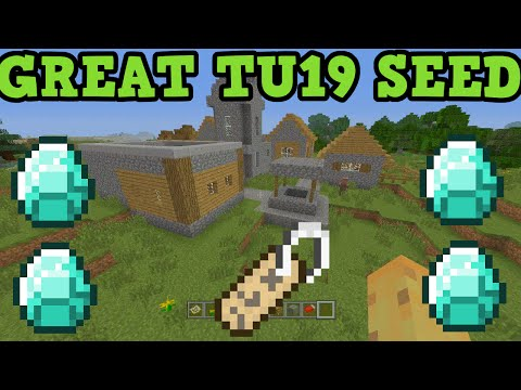 Minecraft Xbox + PS3 + PS4 TU19 Seed - Diamonds Name Tags Horse Armor