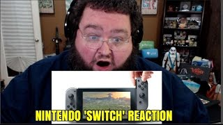 NINTENDO SWITCH REVEAL AND REACTION (NINTENDO NX)
