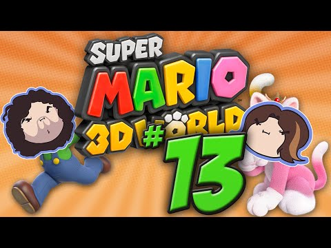 Super Mario 3D World: Snake Ate Plate - PART 13 - Game Grumps