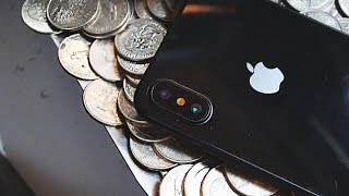 WON AN iPHONE X FROM THE COIN PUSHER!!! | JOYSTICK