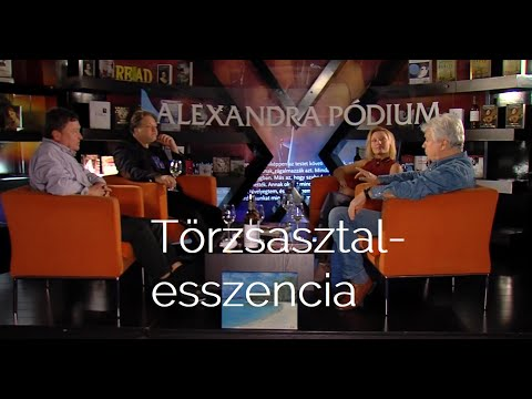 Törzsasztal-esszencia (Lukács Sándorral, Molnár Áronnal, Nagy Danival...)