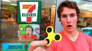7-Eleven STOLE TechSmartt's Fidget Spinner Video