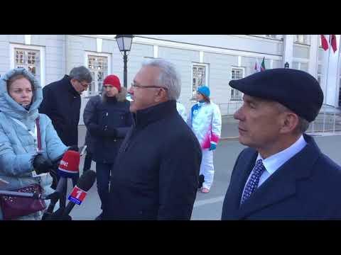 В Казани дан старт эстафете огня XXIX Всемирной зимней Универсиады