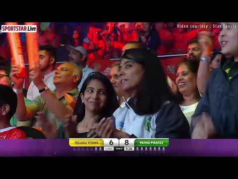 PKL 2018 Highlights- Match 23- Patna Pirates v Telugu Titans