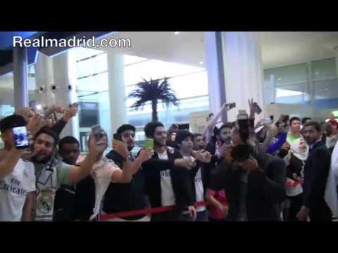 فيديو.. استقبال حاشد لبعثة ريال مدريد في دبي