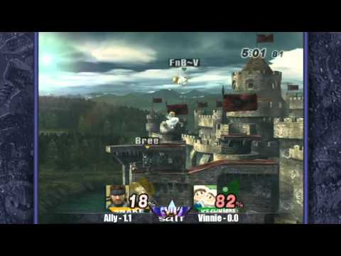 Revival of Salt - Brawl Singles: Vinnie (Ice Climbers & Peach) vs. Ally (Snake) GF
