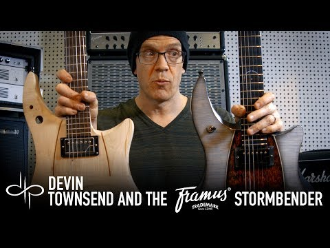 DEVIN TOWNSEND and the Framus STORMBENDER Prototype