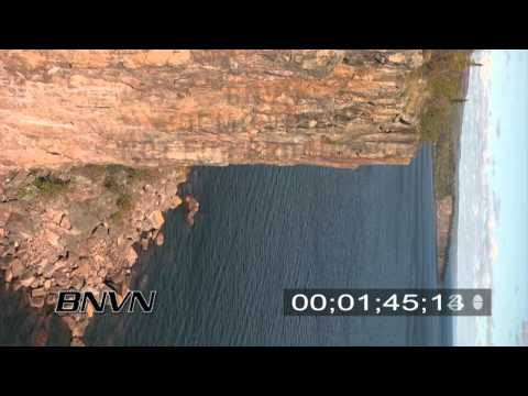 Palisade Head video, Lake Superior - North Shore - Part 2. 90 degree angle for Vertical Use