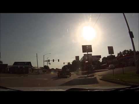 Driving on US 64/US 59 and Bus. Loop I-40 in Sallisaw, OK. Filmed on July 6, 2014.
