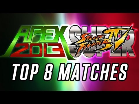 Apex 2013 Super Street Fighter 4 Arcade Edition v2012 Top 8 Finals ft. Chris G, K-Brad, Demon Hyo