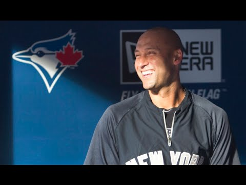 Derek Jeter talks MLB playoff race & facing Mark Buehrle