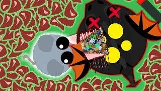 MOUSE KILLS BLACK DRAGON MOPE.IO! POWER OF *HACKS/MODS* BLACK DRAGON CLOAKED MOPE (Mope.io Gameplay)