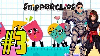 Snipperclips #3: WE'RE GETTIN' GOOD AT THIS GAME