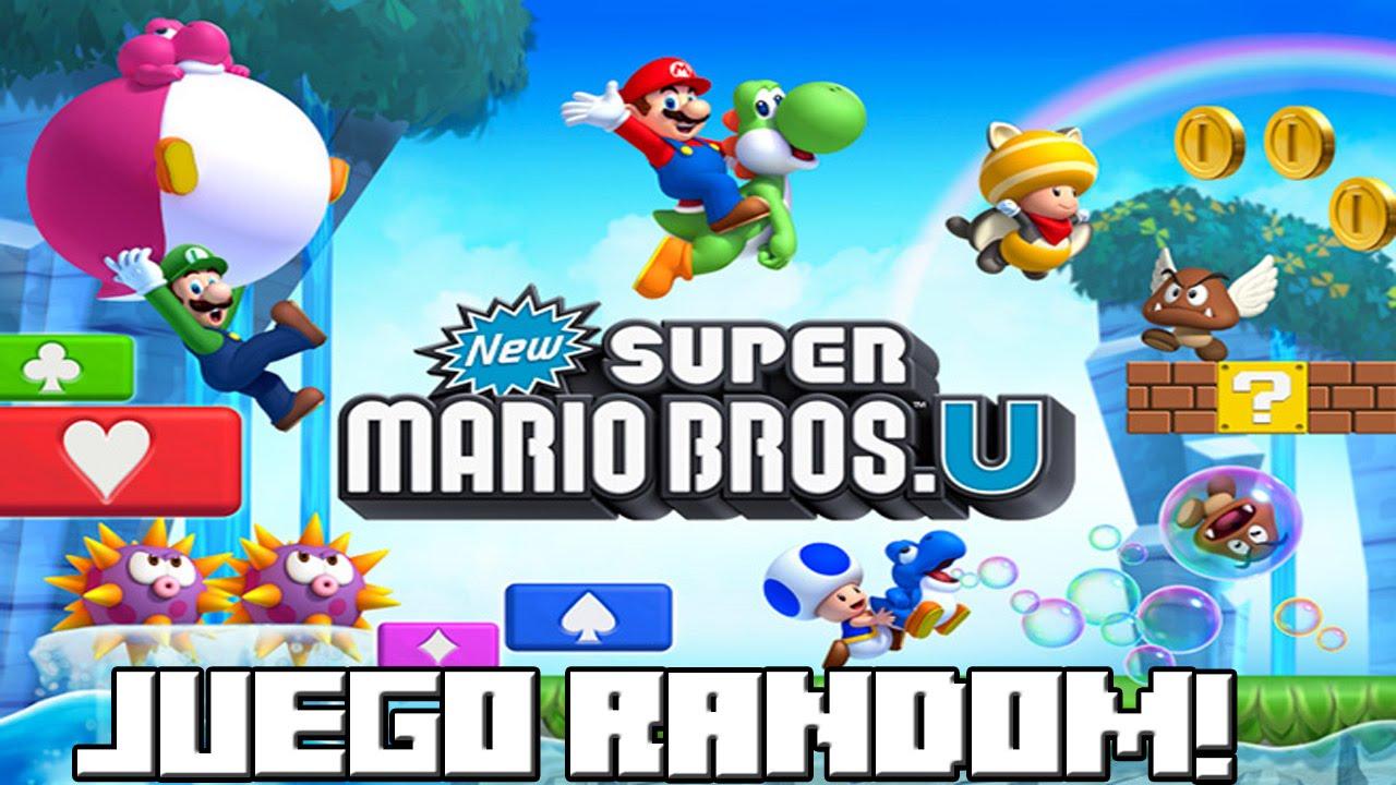 Juegos Mario Bros Wii New Super Mario Bros Wii u