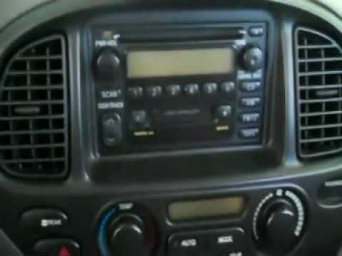 2002 Toyota Sequoia DVD/Navi Stereo Install