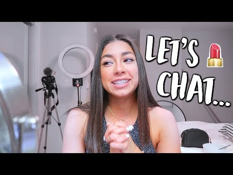 Chit Chat GRWM + Working With A New Trainer! | Jeanine Amapola