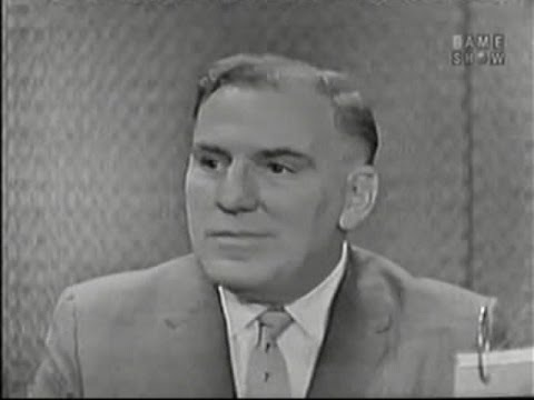What's My Line? - William Bendix; Garson Kanin [panel] (Jul 5, 1959)