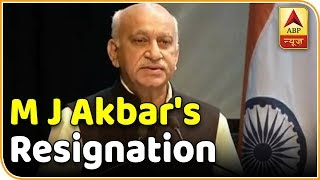 ABP News LIVE |MJ Akbar Resigns From His Post