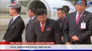 PM LAOS MULAKAN LAWATAN RASMI KE MALAYSIA [9 MEI 2017]