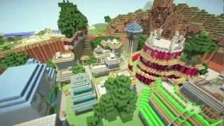 Minecraft Map Konoha Made By Black_Gage