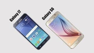 Samsung Galaxy J7 vs Galaxy S6 Comparison – Which is Better?