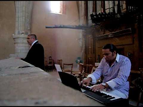 Antonio Luis Suárez, órgano, Juan Carlos Martos, tenor, Aleluya