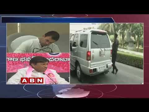 TRS MP Vinod Kumar comments on AP CM Chandrababu Naidu | ABN Telugu