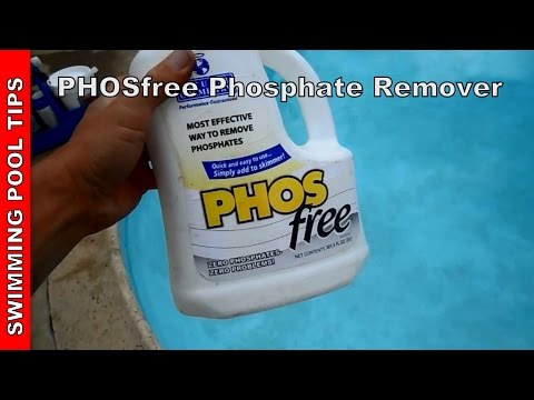 PHOSfree: Phosphate Remover. Algae Treatment