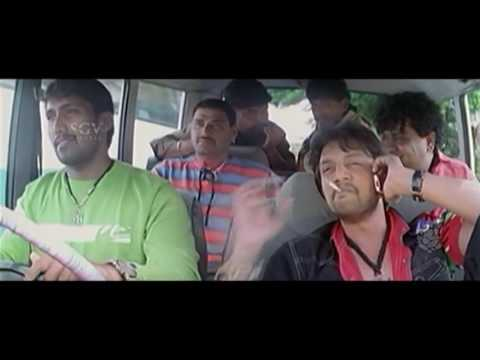 Gooli Kannada Movie | Heroine is Kidnaped by Villains | Kannada Action Scenes | Sudeep, Mamatha