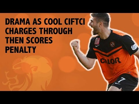 Drama as cool Ciftci charges through then scores penalty