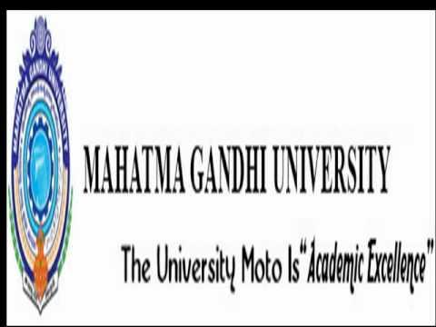 Mahatma Gandhi University Nalgonda Logo Mahathma Gandhi University