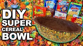 "🥣 DIY ""Super CEREAL Bowl"" - Man Vs Bowl #69"