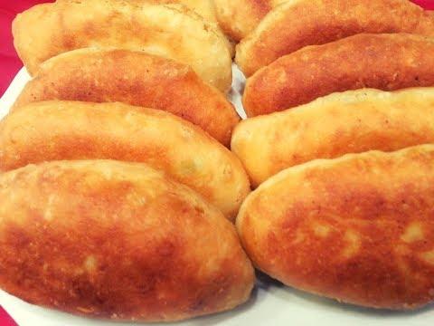 Жареные пирожки  с картошкой.Быстрое тесто.Необычный рецепт.Quick dough  .Fried pies. Pies .