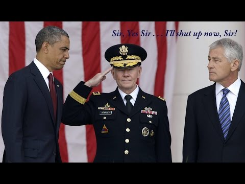 Obama Forces Dempsey & Hagel to Reverse on ISIS - Politics Before Security