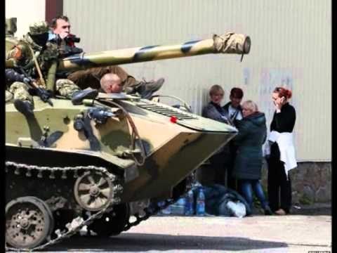 Ukraine crisis: 'International monitors seized' in Sloviansk