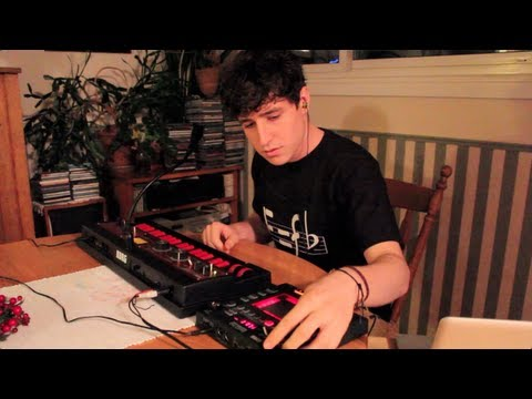 MGMT Kids Cover - Live Synth Looping on microKORG XL+ and Kaoss Pad 3